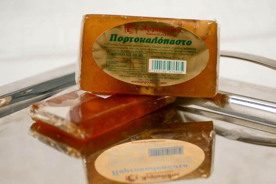 Πορτοκαλόπαστο Αργουδέλη