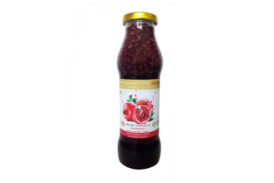 Συμπυκνωμένος Χυμός Ρόδι BIO Με Ολόκληρα Φρούτα