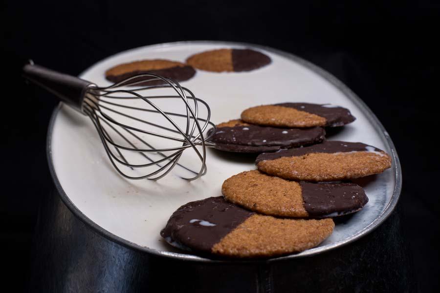 Μπισκότα Κουάκερ με μέλι και σοκολάτα