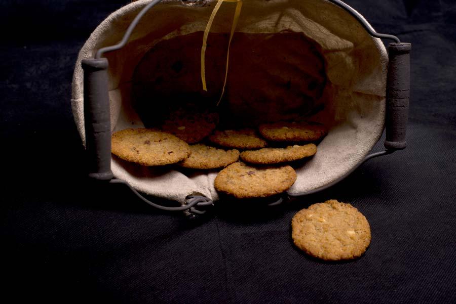 Μπισκότα Κουάκερ με Μέλι και Κράνμπερι