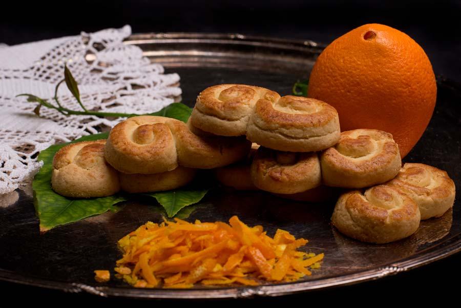 Κουλουράκια Πορτοκαλιού χωρίς ζάχαρη