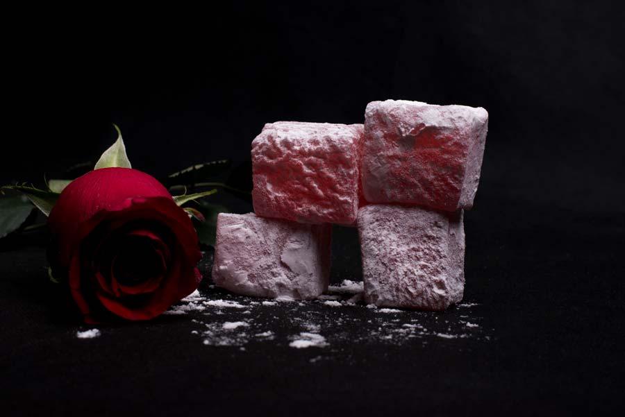 Λουκούμια Τριαντάφυλλο