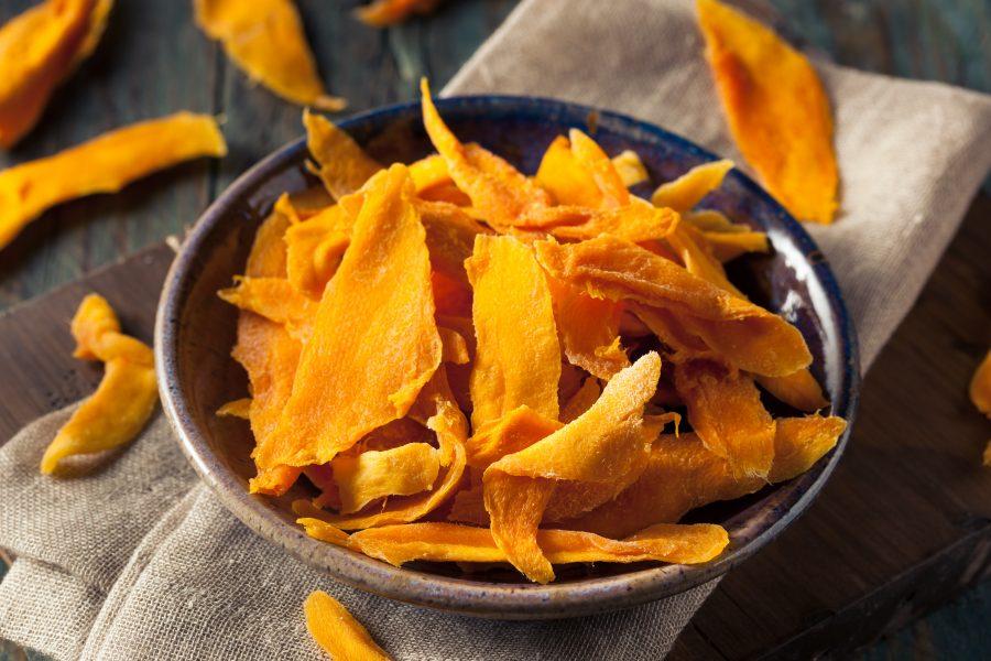 Αποξηραμένο μάνγκο χωρίς ζάχαρη
