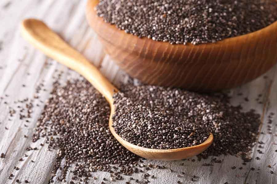 Τσία (Ξηροί καρποί, βότανα, υπερτροφές)